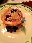 Junior Blueberry Crumb Pies