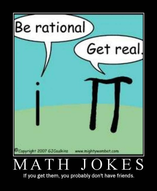 122 - i math math-jokes pi
